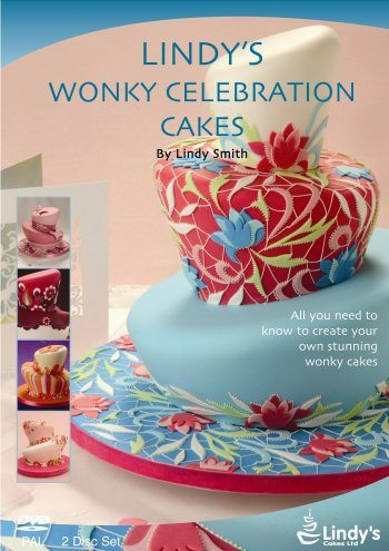 Lindy's Cake decorating DVDs - The covers