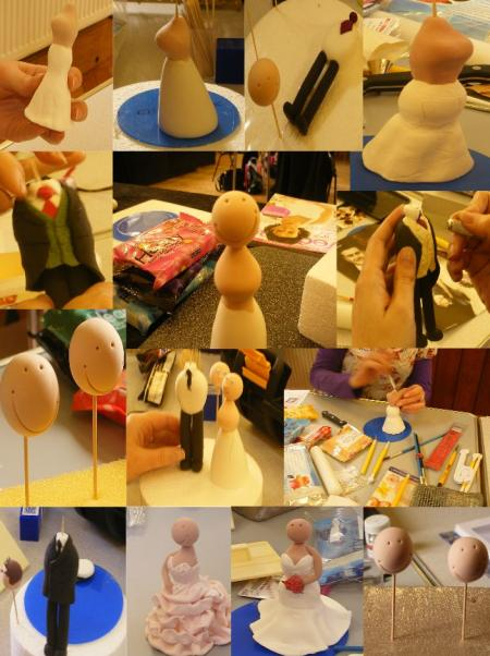 Bride & Groom Toppers Workshop