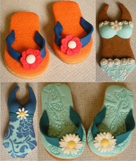 Flip-Flop cookie cutters - Try these out for size!