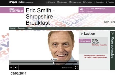 bbc radio Shropshire on iplayer