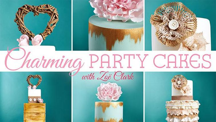 Charming Party Cakes Craftsy class by Zoe Clark