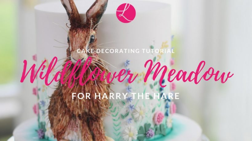 Harry the hare cake by cake designer Lindy Smith