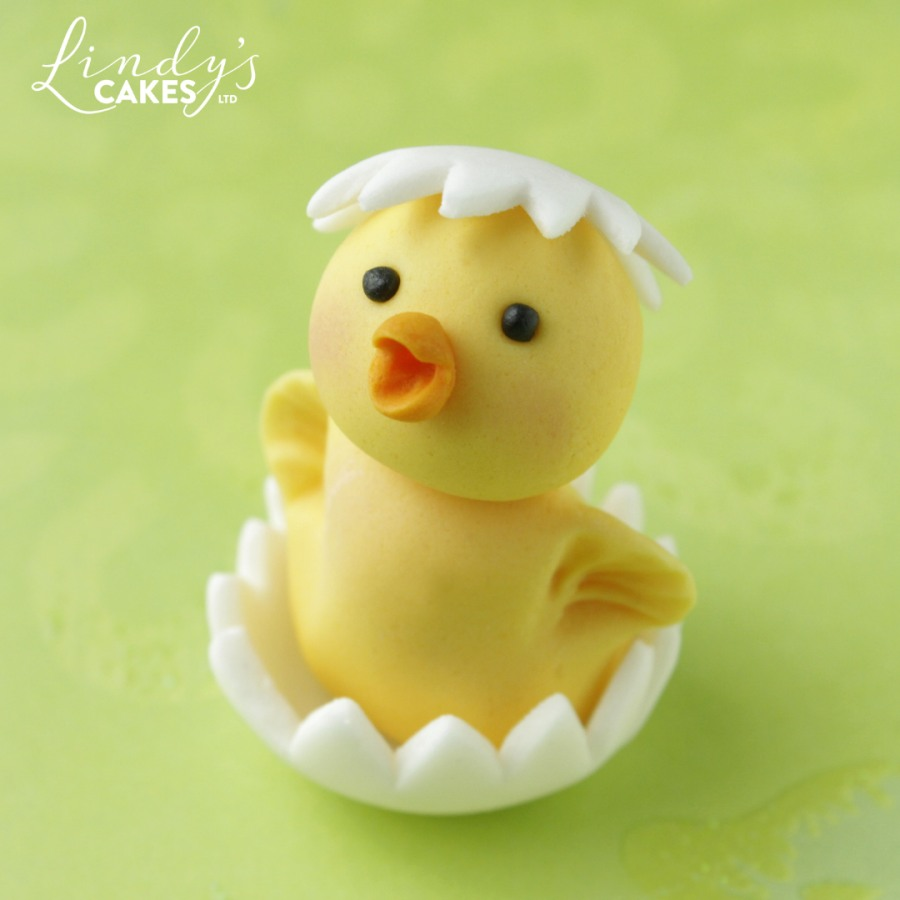 cute Easter chick class sample by Lindy Smith
