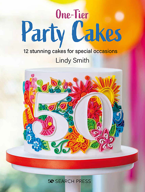 One tier party cakes book by lindy Smith